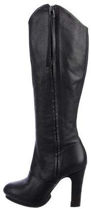 AllSaints Leather Mid-Calf Boots
