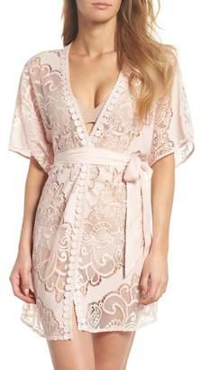 Flora Nikrooz Sleepwear Millie Lace Robe