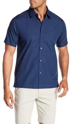 Theory Hybrid Short Sleeve Classic Fit Shirt