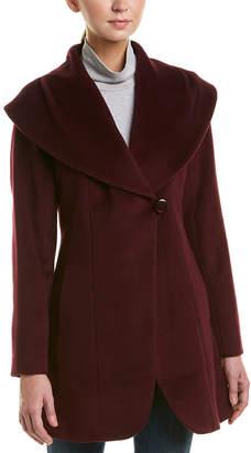 Trina Turk Gemma Wool & Alpaca-Blend Coat