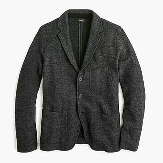 J.Crew American lambswool bird's-eye-knit sweater-blazer