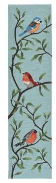 Liora Manné Ravella Birds On Branches Indoor and Outdoor Runner