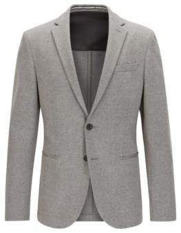 HUGO BOSS Jersey Blend Sport Coat, Slim Fit Norwin J 44L Grey