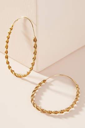 Anthropologie Winnie Hoop Earrings
