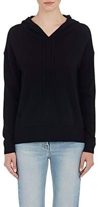 Barneys New York WOMEN'S CASHMERE HOODIE - BLACK SIZE XS