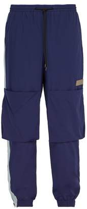 PAM Odyssey Stretch Nylon Track Pants - Mens - Navy