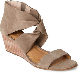 Lucky Brand Brindle Tammanee Knotted Wedge Sandals