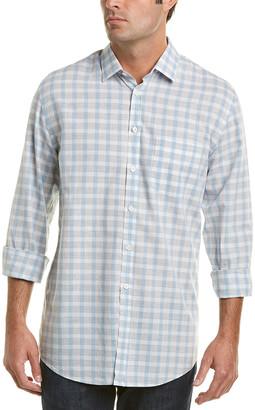 Billy Reid John Linen-Blend Standard Fit Woven Shirt
