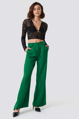 Na Kd Trend High Waisted Flared Suit Pants