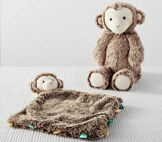 Pottery Barn Kids Preppy Plush Monkey