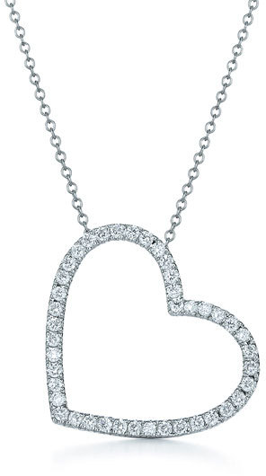 Kwiat Large Silhouette Diamond Necklace