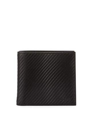 Bally Bi-Fold Single Gusset Wallet, Black $275 thestylecure.com
