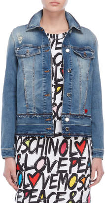 Love Moschino Jean Jacket