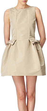 RED VALENTINO Bow-embellished dress