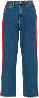 Whistles Multi-Stripe Denim Jean