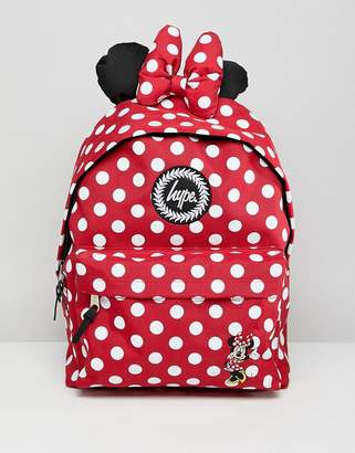 Hype Red Minnie Mouse Disney Backpack