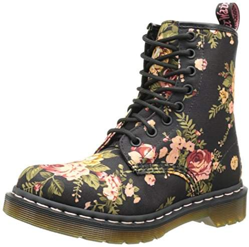 Dr. Martens Women's 1460 Re-Invented Victorian Print Lace Up Boot
