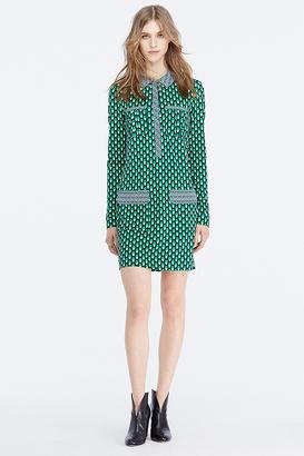 Denny Shirt Dress $448 thestylecure.com