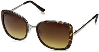 Big Buddha Women's Finley Rectangular Sunglasses