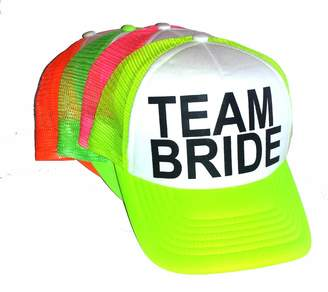 ThatsRad Neon Team Mesh Trucker Hat Cap Bachelorette Party Wedding Snapback bcd677513fee