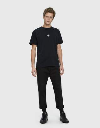 Stone Island Logo Tee in Black