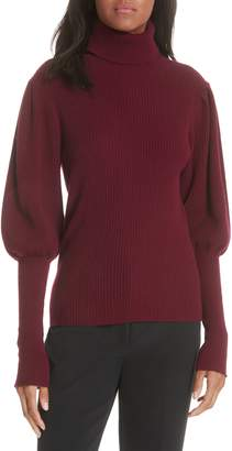 Milly Bishop Sleeve Cashmere Sweater