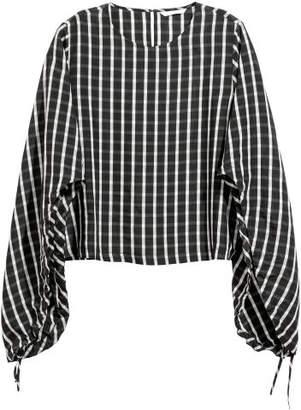 H&M Lyocell-blend Blouse - Black