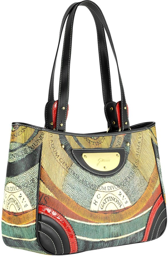 Gattinoni Planetarium - Large Double Handle Shoulder Bag