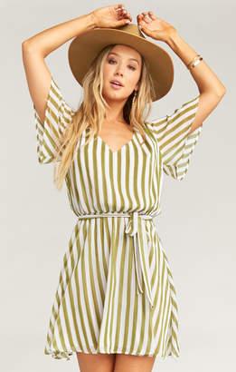 Show Me Your Mumu Anastasia Dress ~ Ciao Bella Stripe