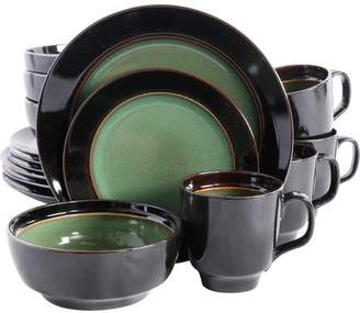 Mint Pantry Stoneware 16 Piece Dinnerware Set, Service for 4