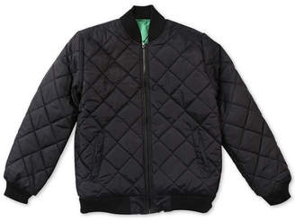 Lrg Men Research Quilted Bomber Jacket