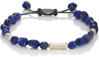 M. Cohen Men's Lapis Beaded Bracelet