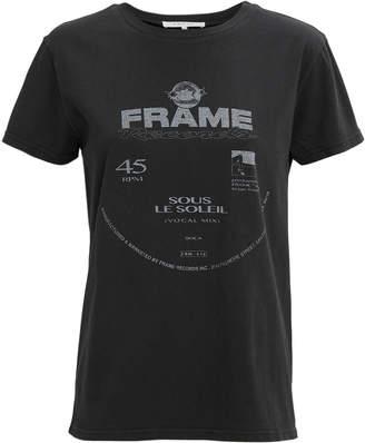Frame Washed Noir Logo T-Shirt