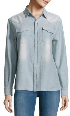 IRO Textured Cotton Shirt