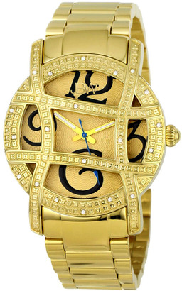 JBW Women's Olympia Diamond & Crystal Watch