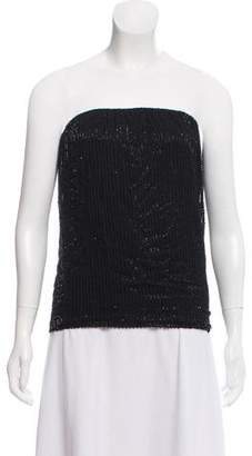 L'Agence Embellished Strapless Top w/ Tags