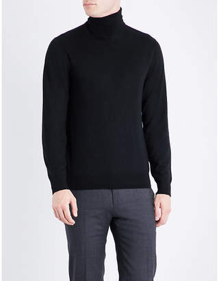 Ralph Lauren Purple Label Turtleneck fine-knit cashmere jumper
