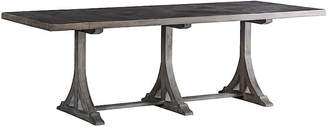 Adams Dining Table - Antiqued Dark Gray - Gabby