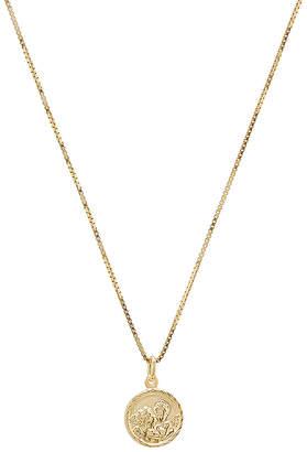 The M Jewelers NY Tiny Angel Pendant Necklace