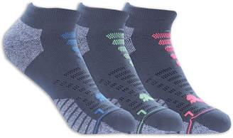 Puma 3-Pack Women 1/2 Terry Low-Cut Socks