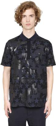 Valentino Camustars Cotton Piquet Polo Shirt