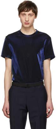 Maison Margiela Navy Lurex T-Shirt