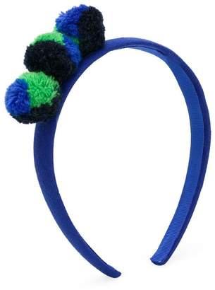 Il Gufo pompom headband