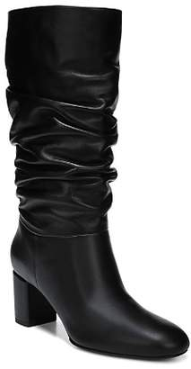 Via Spiga Women's Naren Slouchy Leather Tall Boots