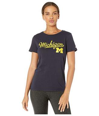 Champion College Michigan Wolverines University Tee
