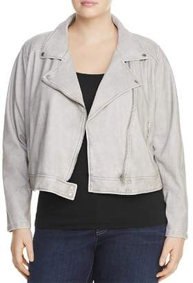 Lysse Plus Belfast Faux Leather Moto Jacket
