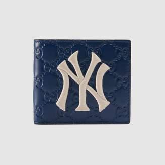 Gucci (グッチ) - ニューヨーク・ヤンキースTM パッチ コインウォレット