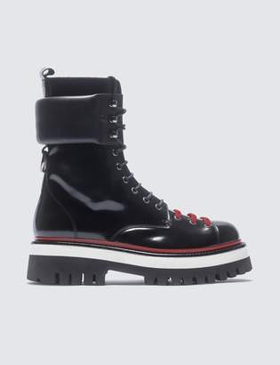 MSGM Lace Up Boots