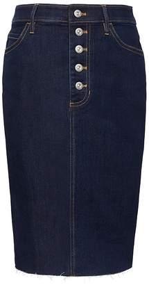 e45e7a6c8e9 Banana Republic Button-Fly Denim Skirt