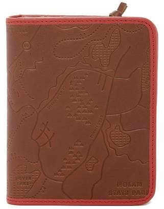 Fossil Zip Leather Passport Case
